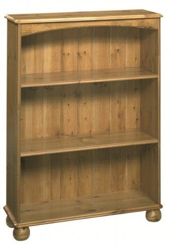Bcherregal-Bookcase-Regal-Landhaus-Kiefer-massiv-antik-romantik-vintage