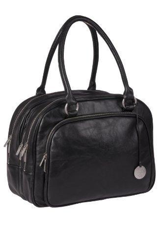 Lassig Tender Multizip Changing Bag (Black) by Lassig