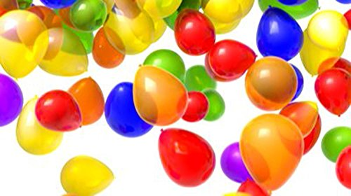 Mylife Multi Colored - Flexible Latex Rubber (100 Count Pack - Standard Size) Water Bomb Grenade Balloons (Have Fun In The Heat)