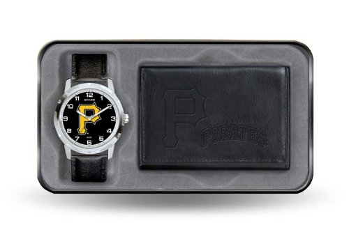 Pittsburgh Pirates Watch and Wallet Gift Set