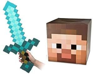 Minecraft Steve Head Mask Template 2 5 Minecraft Steve Head Mask