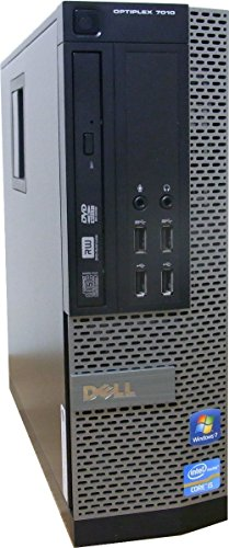 DELL Optiplex7010SF / Intel Corei5-3470(3.2Ghz) / メモリ8GB / SSD120GB+HDD500GB / DVDRWスーパーマルチ / Windows7Pro 64Bit / DELL純正リカバリメディア付