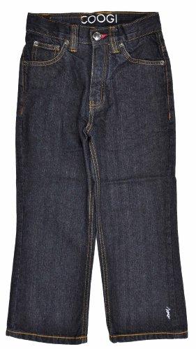 COOGI Boys Striped C Indigo Wash Denim Jean