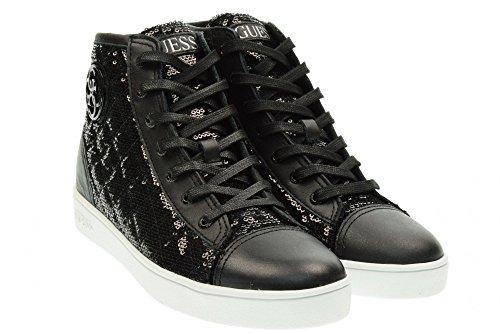 Guess Flgor1 Sat12 Sneaker DONNA Nero, Taglia 36