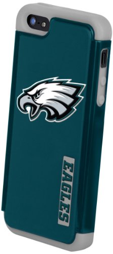Best Price Forever Collectibles Philadelphia Eagles Rugged Dual Hybrid Apple iPhone 5 & 5S Case