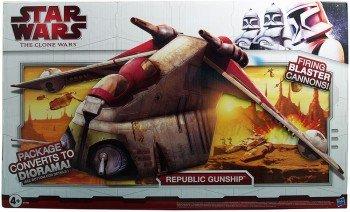 Hasbro - Star Wars The Clone Wars Republic Gunship
