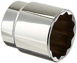 Stanley Proto  J5444 1/2-Inch Drive Socket, 1-3/8-Inch, 12 Point