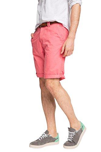 ESPRIT Chino Pantaloni Corti da Uomo, colore Rosa (BLUSH 665), taglia 38