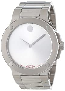 Movado Men's 606291 SE Extreme Stainless-Steel Bracelet Silver Dial Watch