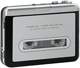 GEANEE 【カセットテープをMP3に変換するプレーヤー】 Geanee カセット→MP3コンバーター CS-MP3【もう手に入らない音源、思い出のラジオ番組など手軽にデジタル化】 (ホワイト)