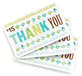 Amazon.com $15 Gift Cards - 3-pack (Thank You)