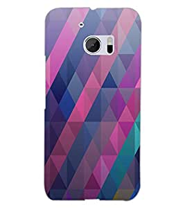 HTC ONE M10 PATTERN Back Cover by PRINTSWAG