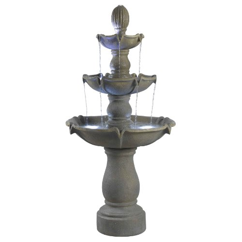 Kenroy Home 50333DT Sherwood Outdoor Fountain