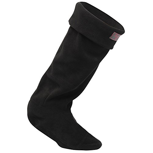Regatta-Great-Outdoors-Damen-Fleece-Stiefelsocken-Small-Schwarz