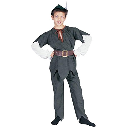 Child's Peter Pan or Robinhood Halloween Costume (Size: Medium 8-10)