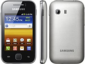 Samsung Galaxy Y Gt-S5369 Unlocked Phone GSM Touch Screen Metalic Gray