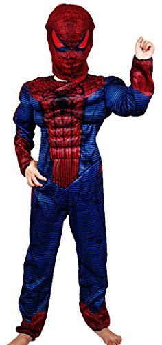 FasCosplay Spiderman Kids Muscle Costume