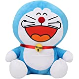 Doraemon Laughing Plush, Multi Color (17-inch)