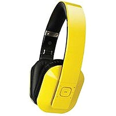 Casque T1Casque Jaune Casque audio avec microphone, Bluetooth 4.0, T1Bluetooth 4.0, jaune, couleur: jaune, réponse en fréquence: 20KHz, réponse en fréquence min max: 60Hz, MSL