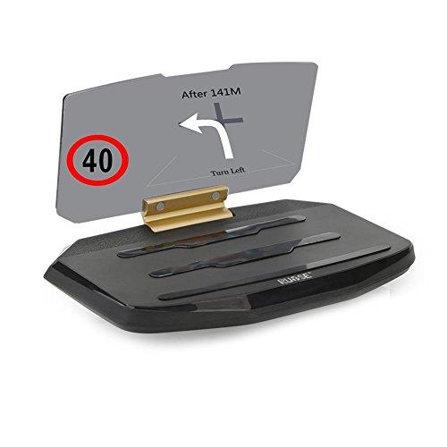 rupse universal hud head up display support gps navigation de voiture projecteur d affichage l. Black Bedroom Furniture Sets. Home Design Ideas