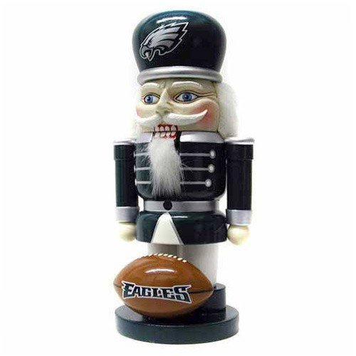 NFL Philadelphia Eagles 7'' Elite Nutcracker at Amazon.com