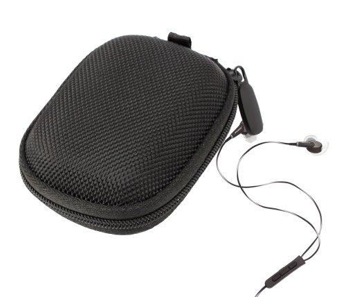 Duragadget Hard Eva Protective Storage Case / Bag For Headphones & Earphones In Black For Bose: Ie2 / Qc20 / Sie21 Sports / Quietcomfort 20I / Sie2I / Freestyle / Mie2I