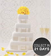 4 Tier Elegant Fruit Wedding Cake