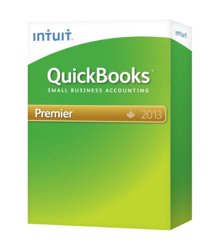 Intuit QuickBooks Premier 2013 Small Business Finances Software (418830)