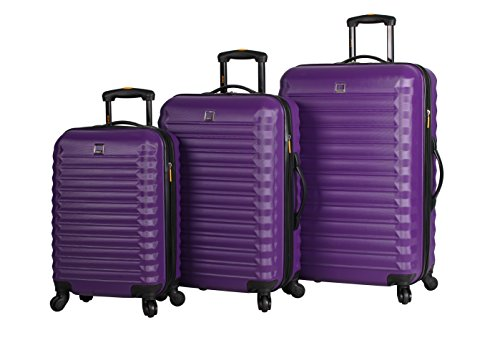 lucas-abs-hard-case-3-piece-rolling-suitcase-sets-with-spinner-wheels-one-size-purple