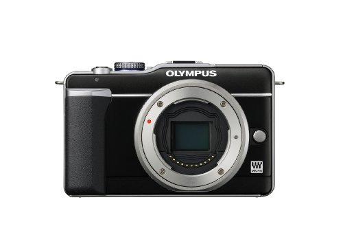 Olympus E-PL1 Compact System Camera - Black (Body Only)
