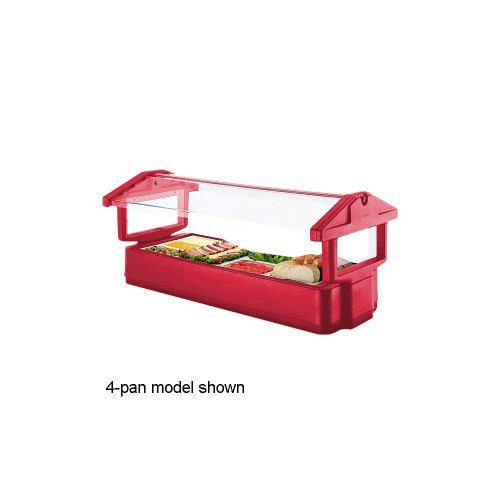 Cambro Food Bar 4Ft Tabletop 3P-Htred (4FBRTT158) Category: Food Bars