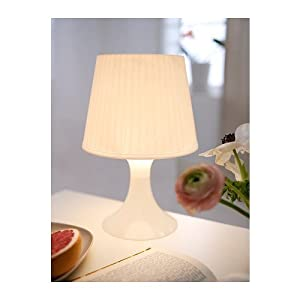 2 X White Table Lamp