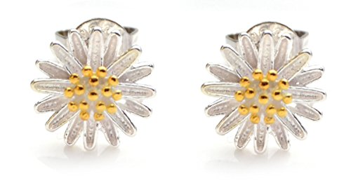 sweet-daisy-flower-stud-earrings-in-organza-pouch