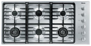 Miele : KM3485G 42 Stainless Steel Gas Cooktop