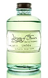 Library of Flowers Bath Oil - Linden, - 8 oz