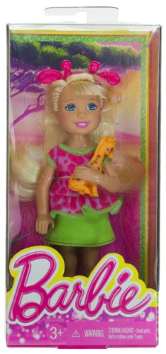 "Chelsea + Baby Giraffe: Barbie Chelsea Goes On A Safari Collection ~5.5"" Doll Figure"