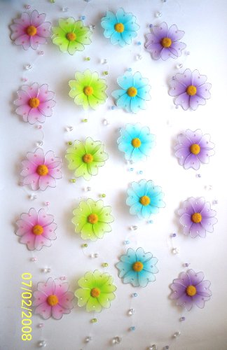 Pink Daisy Flower Garland (1 STRING)