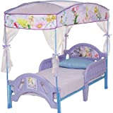 Disney Fairies Fairy Flowers Toddler Canopy Bed - lilac, one size