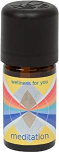 MEDITATION Essential Oil Blend. True Botanical, 100% Pure and Natural, Undiluted, High Quality, Therapeutic Grade (Contains: chamomile, cistus, frankincense, galbanum, sandalwood, angelica, myrrh) - 30 ml