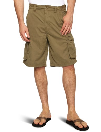 Quiksilver Flood Back Men's Shorts Khaki Small