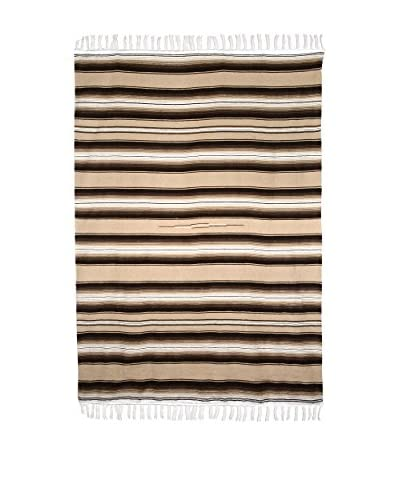 Uptown Down Traditional Authentic Serape, Tan
