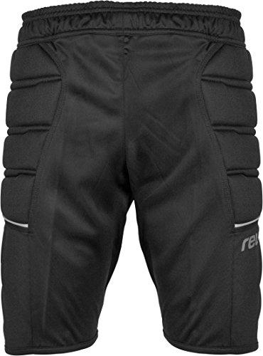 Reusch pantaloncini pantaloni da allenamento Compact da adulto, Unisex, Trainingshose Compact Shorts, nero, L