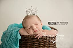 Dawn Princess Rhinestone Newborn Crown, Photography Props - Newborn Photo Props, Baby Props, Baby Girl