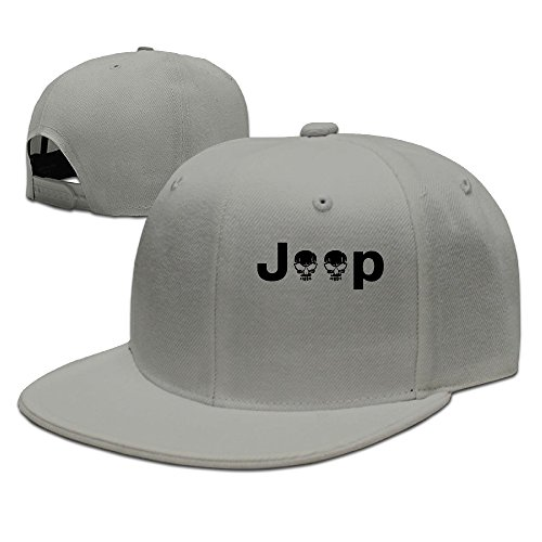 Unisex Jeep Logo With Creative Skull Cap
