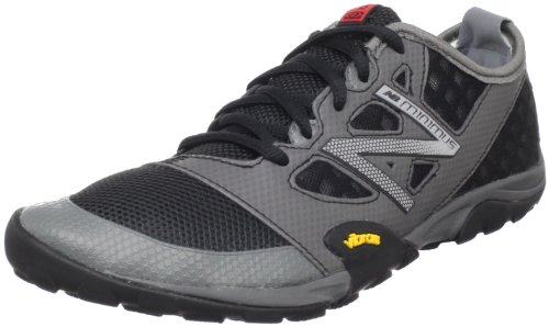 New Balance Men's MT20v1 Trail Minimus Shoe,Black/Grey,8 D US