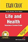 img - for Life and Health Insurance License Exam Cram[LIFE & HEALTH INSURANCE LICENS][Paperback] book / textbook / text book