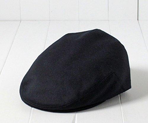 JamesLock ジェームスロック ウールハンチング GILL GLEN ダークネイビー 62cm GREN LOCK & Co. HATTERS ロックアンドコー Lサイズ~5Lサイズ イギリス製 ウール ハンチング 大きいサイズ クラシカル レトロ メンズ 男性 紳士 秋冬 帽子