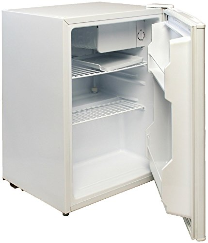 Magic Chef - 2.4 Cubic-Ft Refrigerator (White) *** Product Description: Magic Chef - 2.4 Cubic-Ft Refrigerator (White) 2.4 Cu-Ft Capacity Manual Defrost Reversible Door Adjustable Leveling Legs Full-Range Temperature Control Extra Door Storage Fr *** front-490221