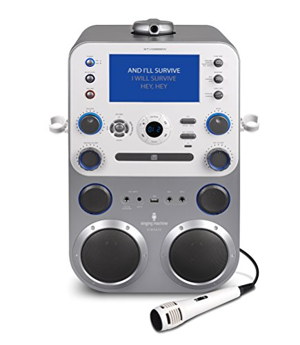 Singing Machine STVG888 Bluetooth Digital Audio Streaming Karaoke System (Karaoke Machine With Camera compare prices)