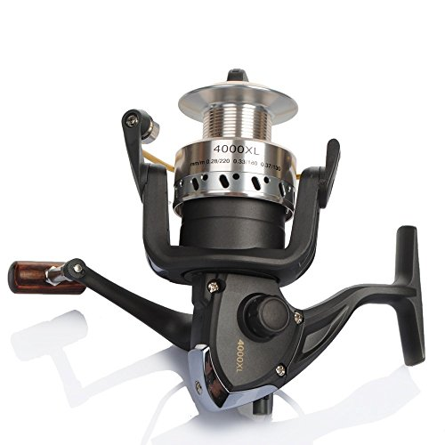 Fish King 4000Xl 9+1Bb 5.3:1 Carp Spinning Fly Fishing Reels Carretilha Para Pesca For Feeder Fishing